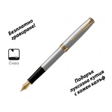 Писалка Parker Royal Sonnet St. Steel