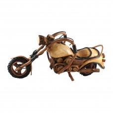 Дървена фигура за декорация Мотор - голям