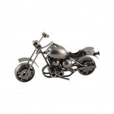 Метална фигура за декорация Мотоциклет - 16 см