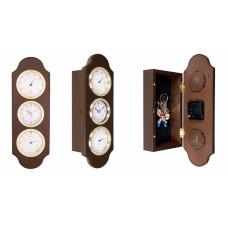Стенен часовник с кутия за ключове