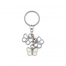 Дамски метален ключодържател Пеперуди