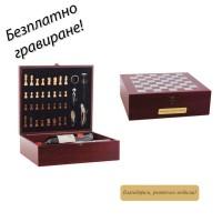 Комплект за вино с шах Bari