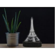 3D LED нощна лампа PARIS