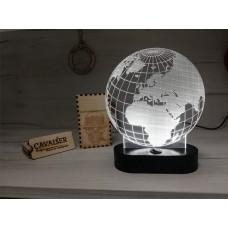 3D LED нощна лампа GLOBE