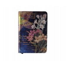 Дамски луксозен бележник Цветя