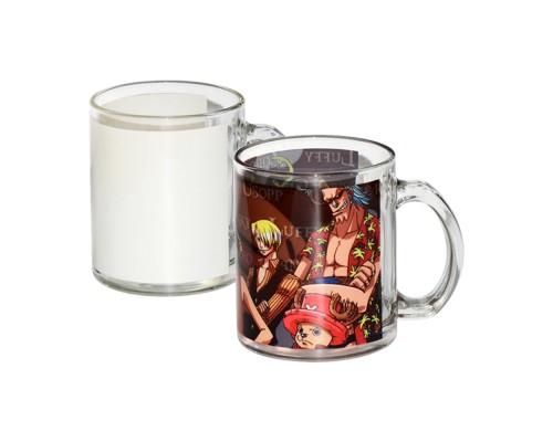 Стъклена чаша със снимка