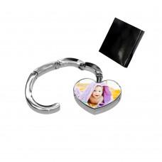 Закачалка за дамска чанта Сърце със снимка