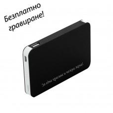 Външна батерия Techno 4000 mAh