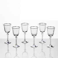 Кристални чаши за вино Brigitta