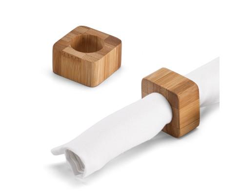 Бамбукови пръстени за салфетки