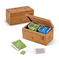 Бамбукова кутия за чай
