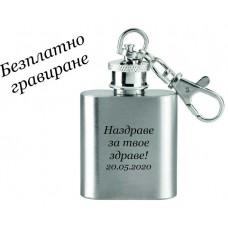 Ключодържател с формата на мини бутилка